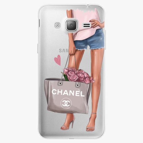 Silikonové pouzdro iSaprio - Fashion Bag na mobil Samsung Galaxy J3 2016