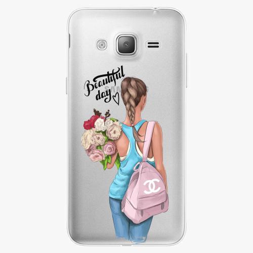 Silikonové pouzdro iSaprio - Beautiful Day na mobil Samsung Galaxy J3 2016