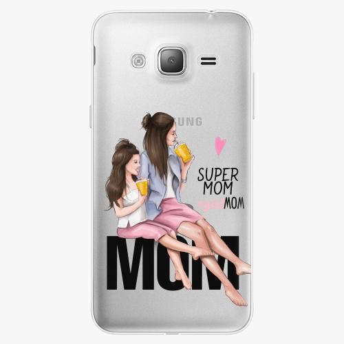 Silikonové pouzdro iSaprio - Milk Shake / Brunette na mobil Samsung Galaxy J3 2016