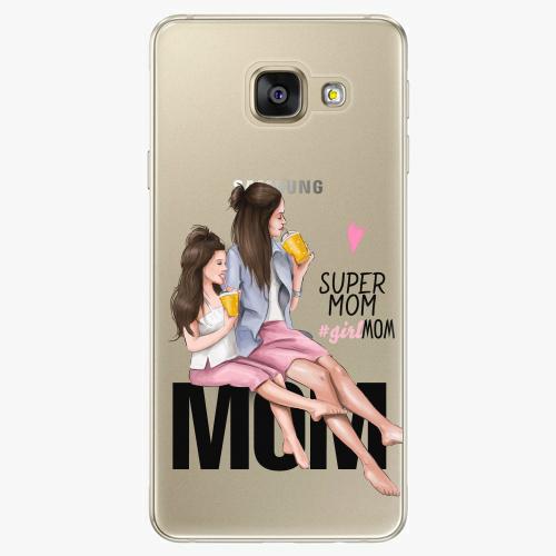 Silikonové pouzdro iSaprio - Milk Shake / Brunette na mobil Samsung Galaxy A5 2016