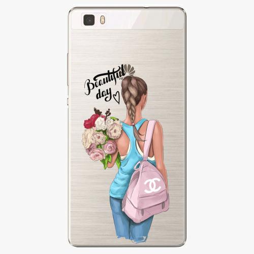 Silikonové pouzdro iSaprio - Beautiful Day na mobil Huawei P8 Lite