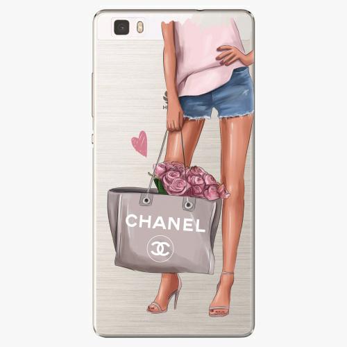 Silikonové pouzdro iSaprio - Fashion Bag na mobil Huawei P8 Lite
