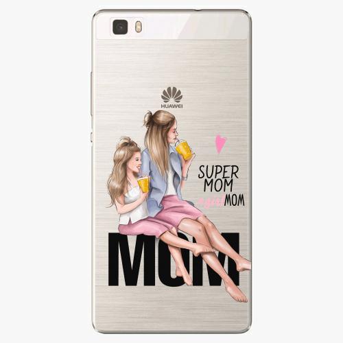 Silikonové pouzdro iSaprio - Milk Shake / Blond na mobil Huawei P8 Lite