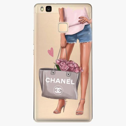 Silikonové pouzdro iSaprio - Fashion Bag na mobil Huawei P9 Lite