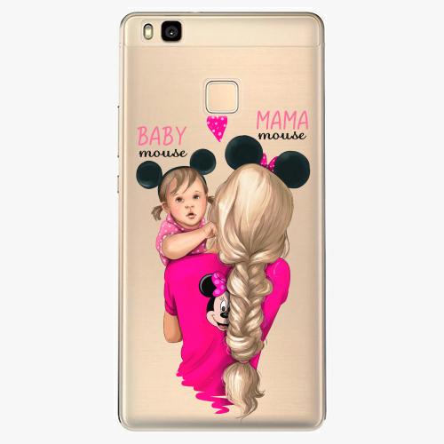 Silikonové pouzdro iSaprio - Mama Mouse Blond and Girl na mobil Huawei P9 Lite