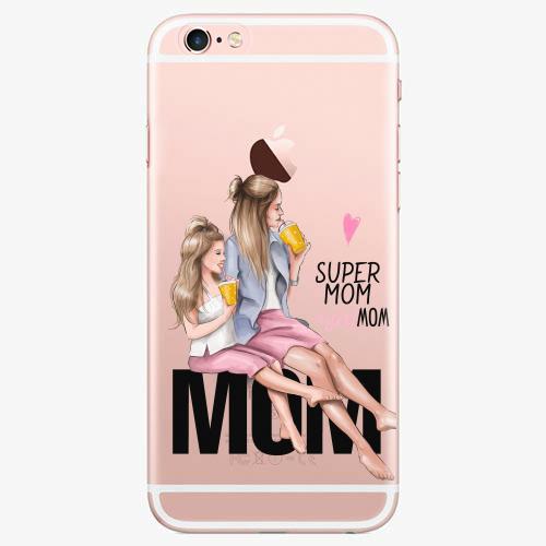 Silikonové pouzdro iSaprio - Milk Shake / Blond na mobil Apple iPhone 7