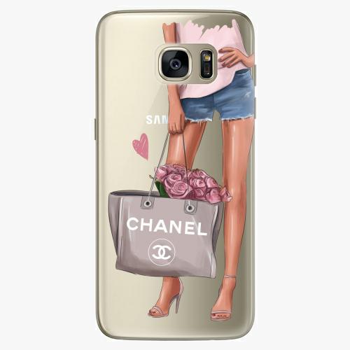 Silikonové pouzdro iSaprio - Fashion Bag na mobil Samsung Galaxy S7 Edge