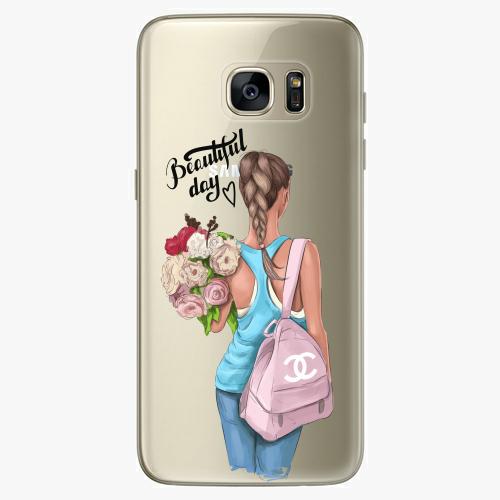 Silikonové pouzdro iSaprio - Beautiful Day na mobil Samsung Galaxy S7 Edge