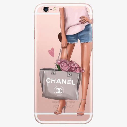 Silikonové pouzdro iSaprio - Fashion Bag na mobil Apple iPhone 7 Plus