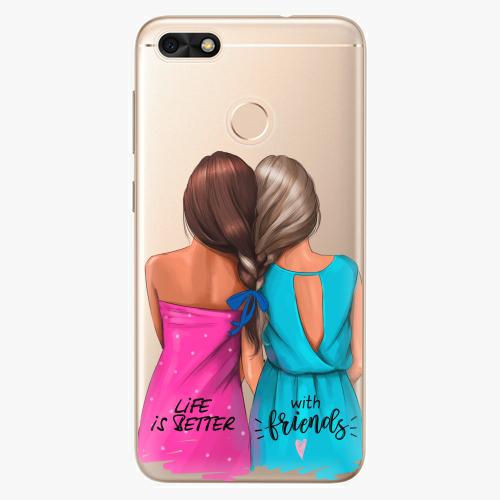 Silikonové pouzdro iSaprio - Best Friends na mobil Huawei P9 Lite Mini