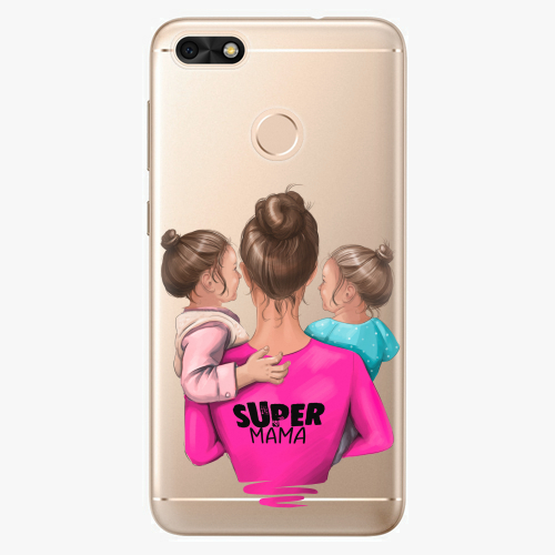 Silikonové pouzdro iSaprio - Super Mama na mobil Two Girls na mobil Huawei P9 Lite Mini