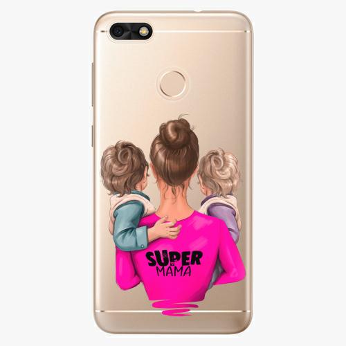 Silikonové pouzdro iSaprio - Super Mama na mobil Two Boys na mobil Huawei P9 Lite Mini