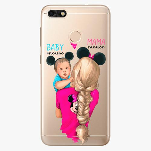 Silikonové pouzdro iSaprio - Mama Mouse Blonde and Boy na mobil Huawei P9 Lite Mini