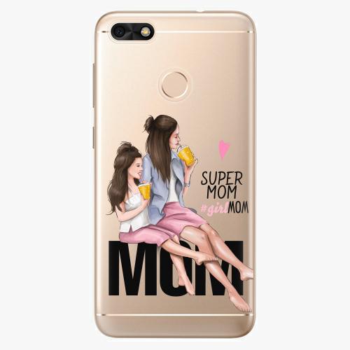 Silikonové pouzdro iSaprio - Milk Shake / Brunette na mobil Huawei P9 Lite Mini