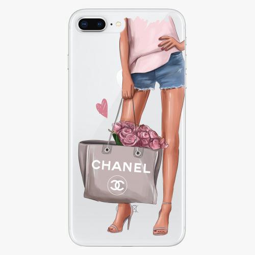 Silikonové pouzdro iSaprio - Fashion Bag na mobil Apple iPhone 8 Plus