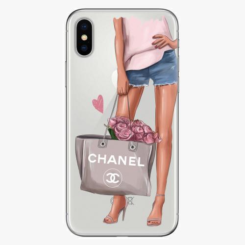 Silikonové pouzdro iSaprio - Fashion Bag na mobil Apple iPhone X