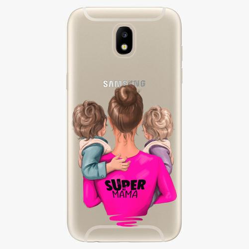 Silikonové pouzdro iSaprio - Super Mama na mobil Two Boys na mobil Samsung  Galaxy J5 2017 empty d583dc59ac4