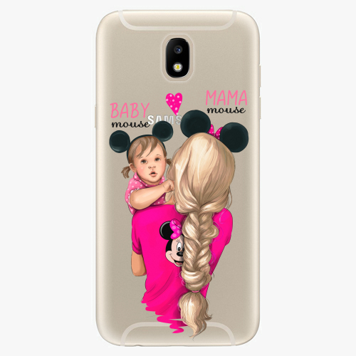 Silikonové pouzdro iSaprio - Mama Mouse Blond and Girl na mobil Samsung Galaxy J5 2017