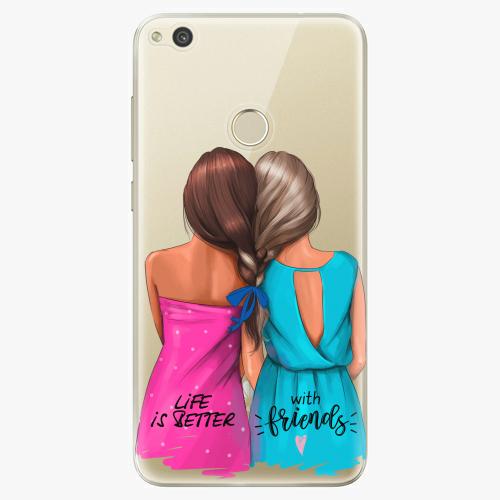 Silikonové pouzdro iSaprio - Best Friends na mobil Huawei P9 Lite 2017