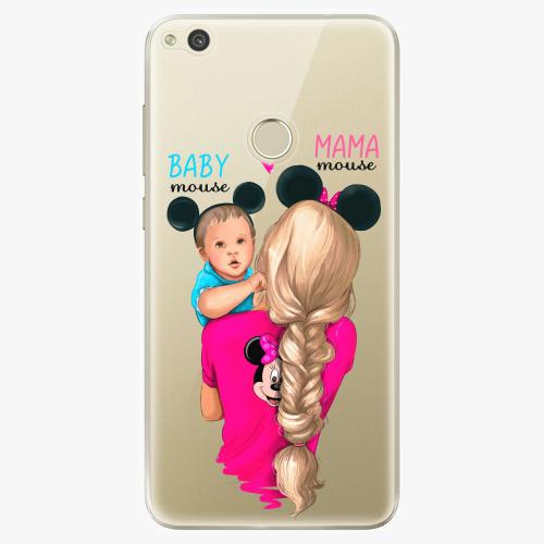 Silikonové pouzdro iSaprio - Mama Mouse Blonde and Boy na mobil Huawei P9 Lite 2017