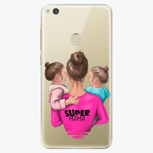 Silikonové pouzdro iSaprio - Super Mama na mobil Two Girls na mobil Huawei P9 Lite 2017