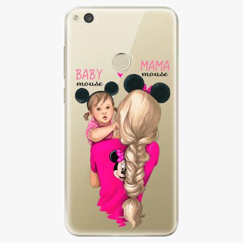 Silikonové pouzdro iSaprio - Mama Mouse Blond and Girl na mobil Huawei P9 Lite 2017