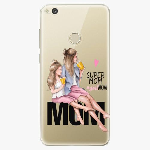 Silikonové pouzdro iSaprio - Milk Shake / Blond na mobil Huawei P9 Lite 2017