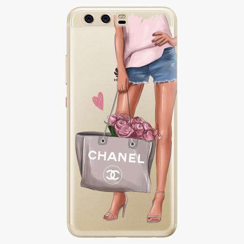 Silikonové pouzdro iSaprio - Fashion Bag na mobil Huawei P10