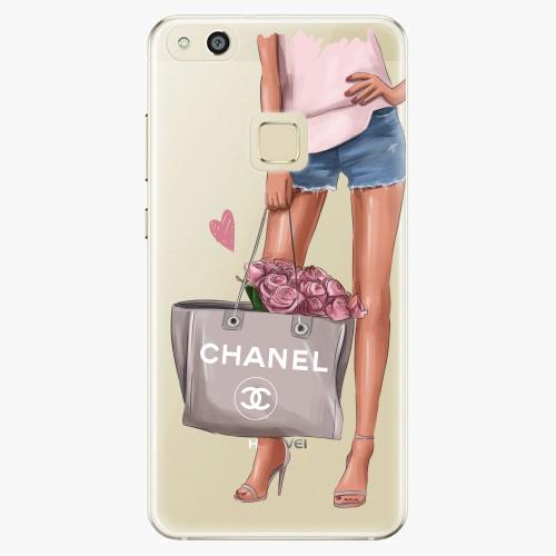 Silikonové pouzdro iSaprio - Fashion Bag na mobil Huawei P10 Lite