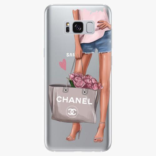 Silikonové pouzdro iSaprio - Fashion Bag na mobil Samsung Galaxy S8