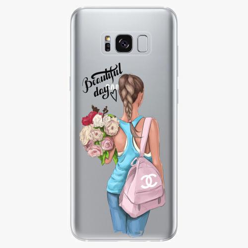 Silikonové pouzdro iSaprio - Beautiful Day na mobil Samsung Galaxy S8