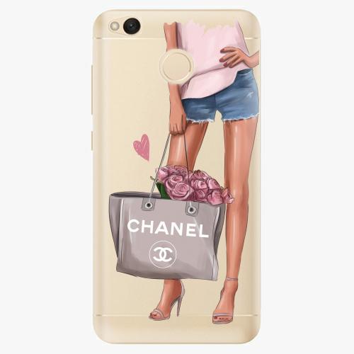 Silikonové pouzdro iSaprio - Fashion Bag na mobil Xiaomi Redmi 4X