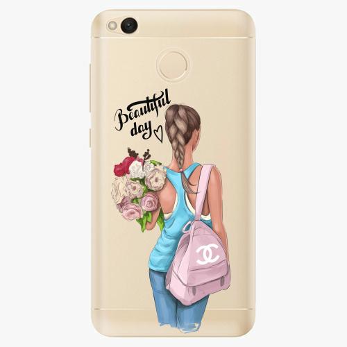 Silikonové pouzdro iSaprio - Beautiful Day na mobil Xiaomi Redmi 4X