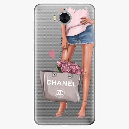 Silikonové pouzdro iSaprio - Fashion Bag na mobil Huawei Y6 2017