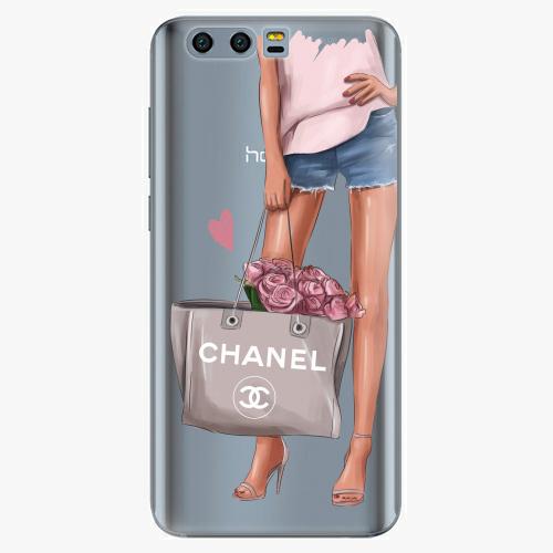 Silikonové pouzdro iSaprio - Fashion Bag na mobil Honor 9