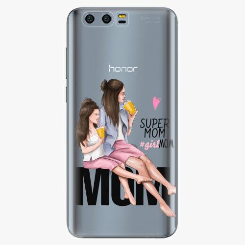 Silikonové pouzdro iSaprio - Milk Shake / Brunette na mobil Honor 9