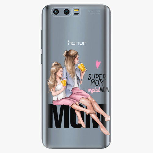 Silikonové pouzdro iSaprio - Milk Shake / Blond na mobil Honor 9