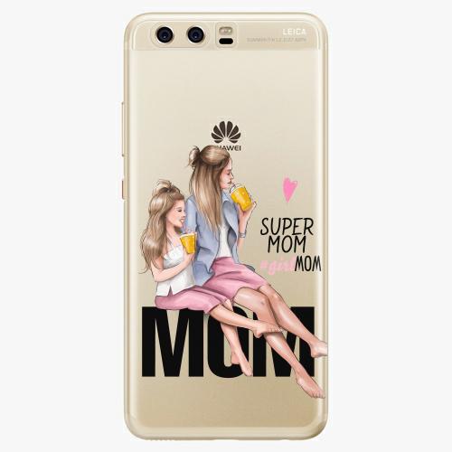 Silikonové pouzdro iSaprio - Milk Shake / Blond na mobil Huawei P10