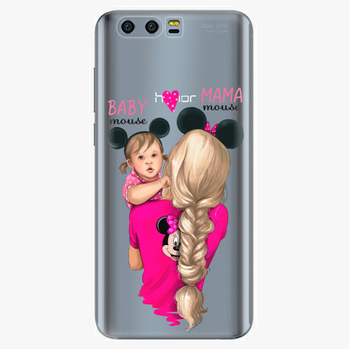 Silikonové pouzdro iSaprio - Mama Mouse Blond and Girl na mobil Honor 9