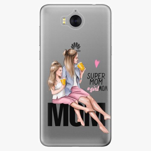 Silikonové pouzdro iSaprio - Milk Shake / Blond na mobil Huawei Y6 2017