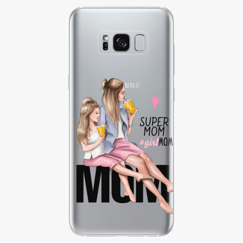 Silikonové pouzdro iSaprio - Milk Shake / Blond na mobil Samsung Galaxy S8