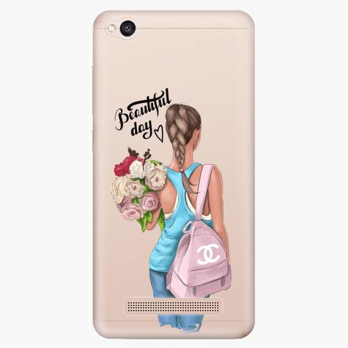 Silikonové pouzdro iSaprio - Beautiful Day na mobil Xiaomi Redmi 4A