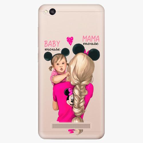 Silikonové pouzdro iSaprio - Mama Mouse Blond and Girl na mobil Xiaomi Redmi 4A