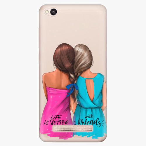 Silikonové pouzdro iSaprio - Best Friends na mobil Xiaomi Redmi 4A