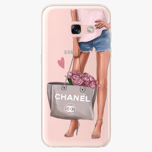 Silikonové pouzdro iSaprio - Fashion Bag na mobil Samsung Galaxy A3 2017