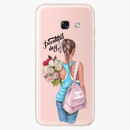 Silikonové pouzdro iSaprio - Beautiful Day na mobil Samsung Galaxy A3 2017