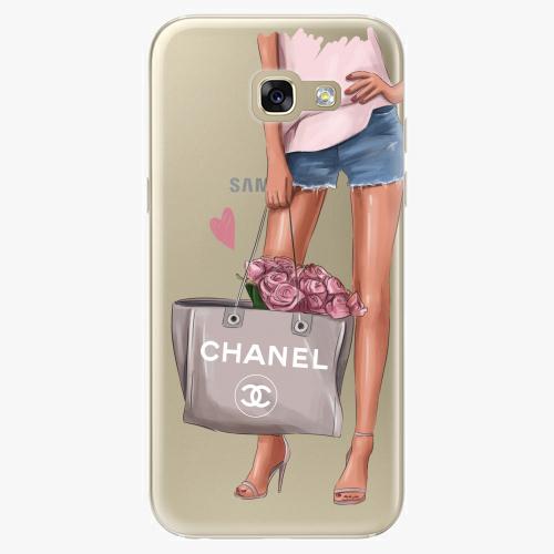 Silikonové pouzdro iSaprio - Fashion Bag na mobil Samsung Galaxy A5 2017