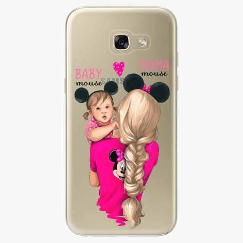 Silikonové pouzdro iSaprio - Mama Mouse Blond and Girl na mobil Samsung Galaxy A5 2017