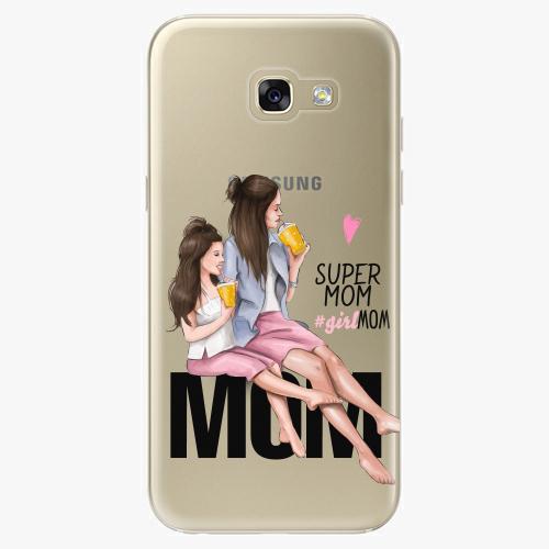 Silikonové pouzdro iSaprio - Milk Shake / Brunette na mobil Samsung Galaxy A5 2017