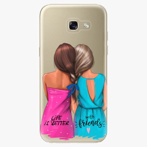 Silikonové pouzdro iSaprio - Best Friends na mobil Samsung Galaxy A5 2017